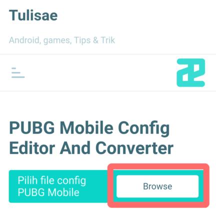 Config Editor Browse
